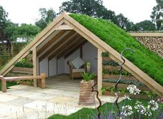 30 Gorgeous Garden Design Ideas You Need To See is part of Green roof - Designing your personal garden could be a really rewarding process The best way to shape the region in that your garden is… Patio Design, Garden Projects, Garden Furniture, Ikea Furniture, Repurposed Furniture, Backyard Landscaping, Backyard Patio, Outdoor Gardens, Roof Gardens