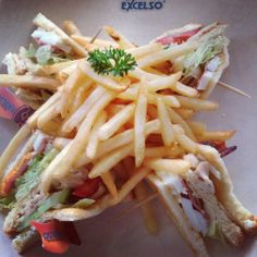 Need ideas for dinner? Try this club sandwich at Excelso Coffee - Kuningan City UG