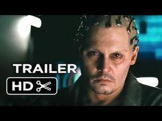 Technology threatens human existence in the 1st Trailer for 'Transcendence' starring Morgan Freeman & Johnny Depp.