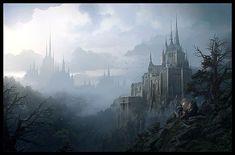 Insane Fantasy / Sci-fi Art by RaphaelLacoste