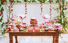 Festa em casa - tema joaninha