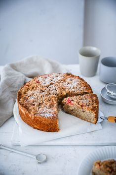 Rezept für Apfelstreuselkuchen | Zucker, Zimt und Liebe Baking Recipes, Cake Recipes, Apple Crumble Cake, Crumb Recipe, Cake Photography, But First Coffee, Cakes And More, Sweet Recipes, Food Design