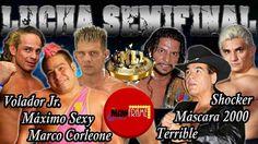 MÁXIMO SEXY M.CORLEONE Y VOLADOR Jr. VS. M. AÑO 2000 SHOCKER Y TERRIBLE ...