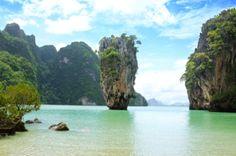 Phang Nga Bay - James Bond Island, Phuket Thailand