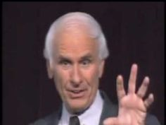 Powerful message from the great Jim Rohn ~The Day That Turns Your Life Around.. I've HAD IT!!