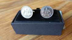 Australian 6d Sixpence Silver Coin by CollectorsCufflinks on Etsy