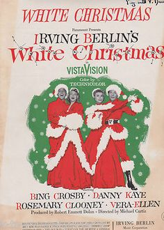 Irving Berlins White Christmas 2021 160 White Christmas Ideas In 2021 White Christmas White Christmas Movie Christmas Movies