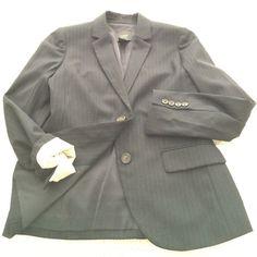 Jcrew navy pinstripe Super 120s wool jacket Jcrew navy pinstripe Super 120s wool jacket. Worn twice. 4p and fits like it was tailored! J. Crew Jackets & Coats Blazers