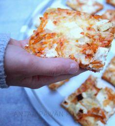 Hawaiian Pizza, Lasagna, Feta, Food And Drink, Cooking Recipes, Baking, Ethnic Recipes, Diy, Inspiration