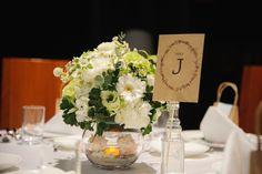 結婚式のテーブルナンバー