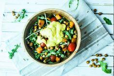 winter arugula salad
