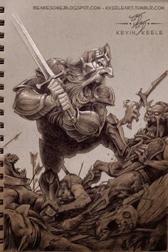 Thorin Oakenshield and the Battle of Five Armies by Kevin Keele at http://beawesome.blogspot.com/2014/11/thorin-oakenshield-and-battle-of-five.html.