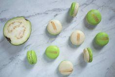 Guava Macarons