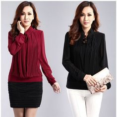 Ladies Blouses And Tops For Work