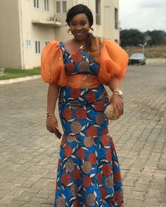 2019 Creative Ankara Gown Styles for Beautiful Ladies from Diyanu Best African Dresses, African Traditional Dresses, Latest African Fashion Dresses, African Print Dresses, African Print Fashion, African Attire, Ankara Fashion, Africa Fashion, African Prints