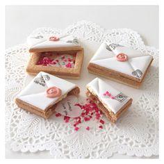C.bonbon: 3D LOVE letter cookies