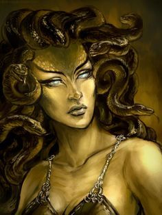 So this is NOT Medusa. Its a character commission from the artist eliminate from someone's character off a game. I can't recall the name but I remember seeing her around. Eliminate of DA Medusa Drawing, Medusa Art, Medusa Gorgon, Medusa Tattoo, I Tattoo, Greek Monsters, Snake Goddess, Feminine Symbols, Amazon Queen