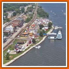 Welcome to historic LeClaire, Iowa where the Mississippi River meets Interstate 80 near the Quad Cities