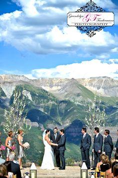 Destination Wedding Photos Telluride Colorado