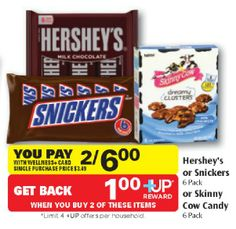 HOT! Skinny Cow Candy Just $1 a Bag at Rite Aid (Ends 6/8)