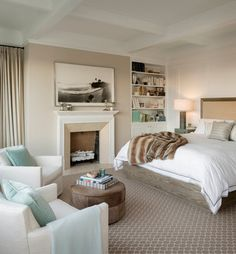 Washington Street - 3 - transitional - Bedroom - San Francisco - Sutro Architects