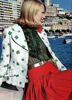 Miss Dior, L'officiel magazine 1970s