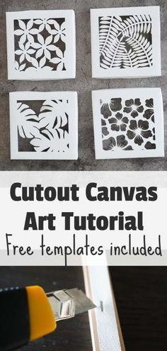 Paper Cutting Templates, Stencil Templates, Art Template, Templates Printable Free, Stencil Designs, Paper Cutting Art, Cut Out Canvas, Canvas Art, Free Stencils