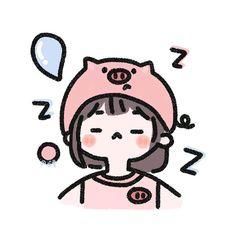 Kawaii Girl Drawings, Cute Cartoon Drawings, Cartoon Art Styles, Cute Art Styles, Kawaii Art, Cute Couple Drawings, Cute Little Drawings, Mini Drawings, V Chibi