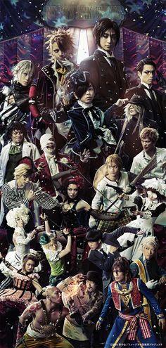 Nueva imagen promocional  del cuarto musical de teatro de Kuroshitsuji.