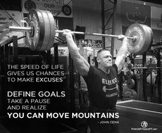 John Cena, WWE, Wrestling, Fitness, Powerlifting, Weightlifting, Focus, Goals, Strength, Motivation, Fitness, Inspiration, Quotes, Encouragement,