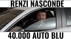 Renzi ha nascosto 40.000 autoblu ma noi le abbiamo trovate - YouTube