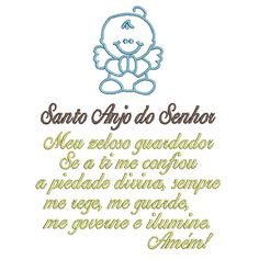 ORAÇÃO SANTO ANJO 17X13 -2