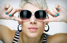 1ed112c889 Silver Frame Summer Sunglass Ideas for Girls Gafas De Sol, Razones, Usar,  Moda