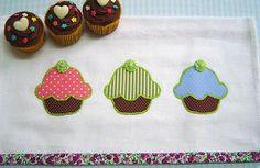 https://flic.kr/p/aqmB6V   Pano de prato Cupcake