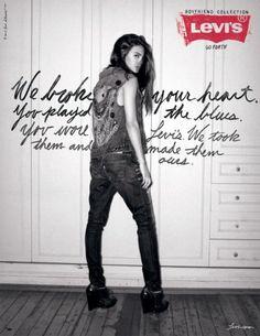 Levi's Boyfriend Jeans Autumn 2010 Ad Campaign
