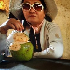 After a tour of the Cu Chi Tunnels, we stopped for #yuca and #coconut with our tour guide who was a female soldier during the war. This is what kept her live for months underground.  **************************************************************** #kitchenconnection #kitchenconnectiongoestoHoChiMinh #Vietnam #food #yummy #yum #delicious #foodie #fun #wanderlust #travel #adventure #trip #cheffie #instagood #picoftheday #instadaily #instago #holiday #view #instatravel
