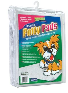 Davis Reusable Potty Pads for Pets, 24 x 24' -- Want additional info? Click on the image.