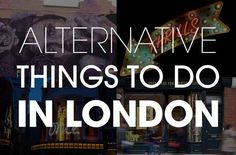 15 Alternative Things To Do In London - escape the tourists. Discover the city. London Calling, Things To Do In London, London Life, London 2016, London Travel, British Isles, Study Abroad, Oh The Places You'll Go, London England