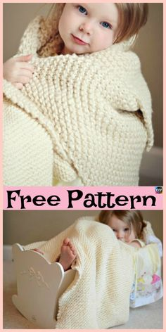 2087c9a10a8a86 10 Easiest Knit Baby Blanket Free Patterns