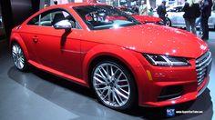2016 Audi TTS - Exterior and Interior Walkaround - 2016 New York Auto Show