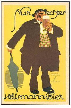 Hülsmann Bier ~ Ludwig Hohlwein