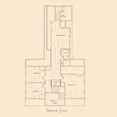 center chimney colonial floor plans   ... sq ft cape 2800 sq ft ...