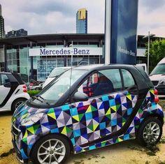 Smart Car Accessories Garden Fortwo Colors Cute