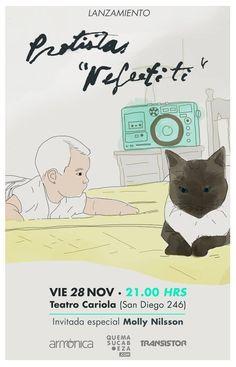 Protistas, Lanzamiento Nefertiti - 28 de noviembre - Teatro Cariola