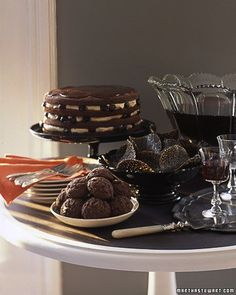 Haunted Black Forest Layer Cake Recipe