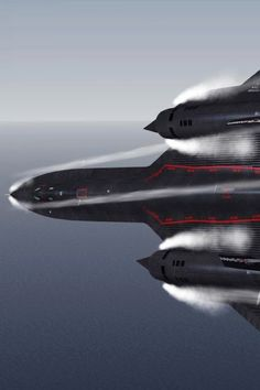SR-71 Blackbird - high speed turn.