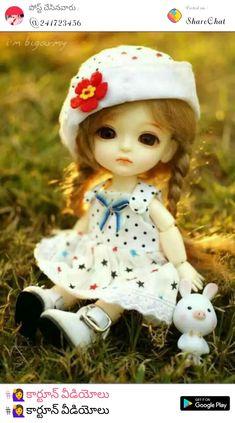 My cute dool Beautiful Barbie Dolls, Pretty Dolls, Cute Girl Hd Wallpaper, Barbie Images, Cute Baby Dolls, Cute Cartoon Girl, Realistic Dolls, Smart Doll, Anime Dolls