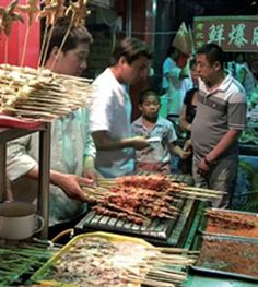 X is for Xi'ian street food. Xi'ia is one of the oldest cities in China, not to mention one of China's 4 great ancient capitals. No Chinese trip is complete without a visit to these incredible markets to taste many traditional, and some just downright unusual, delicacies.
