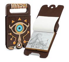 You still have one more Sheikah Slate upgrade to go! Now you can draw in it, like a true Hylian artist. Taking on the Calamity Ganon can wait - drawing some nice landscapes is top priority.