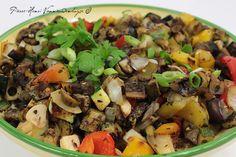 petits légumes grillés à la plancha